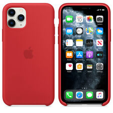 For Apple Iphone 11 Red Silicone Case Official Covers Skins Mobile Accessories