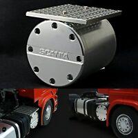 1:14 Scale Metal Air Tank For 1/14 Tamiya LESU SCANIA R620 RC Tractor Truck Car