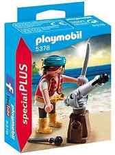 Playmobil 5378 Pirate Cannon piercing beard tattoo sword NEW BOXED Worldwide