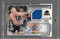 Georges St-Pierre FAR-GS 2014 TOPPS AUTOGRAPH RELIC CARD WELTERWEIGHT UFC
