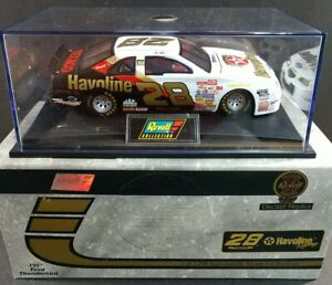 ERNIE IRVIN #28 Havoline 1997 Ford Thunderbird 1:24 Scale REVELL Collection Club