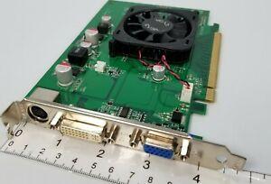 EVGA NVIDIA GeForce 8400 GS PCIe DVI VGA ATX Full Windows 10 Video Graphics Card