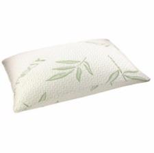 Orthopedic Pillow Bamboo Shredded Memory Foam Firm Head Neck Back Support 70cm