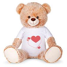 Teddybär Teddy Plüschbär Kuscheltier XL 60 cm personalisierbar mit Bild