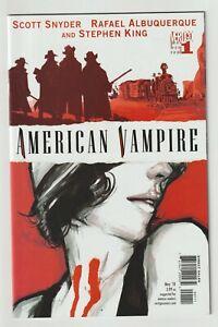 American Vampire (2010) #1 - Scott Synder - Stephen King - DC/Vertigo