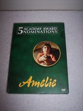 Amelie (Dvd, 2002, 2-Disc Set, Special Edition) W/Slipcase Euc