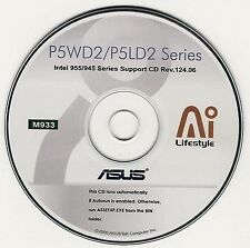 ASUS P5WD2 P5WD2 PREM P5LD2 R2.0 P5LD2 DELX Motherboar Drivers Install Disk M933