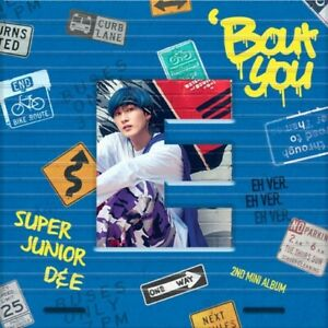 SUPER JUNIOR D&E - Bout You [EUNHYUK ver.] CD+Photocard+Gift+Tracking no.