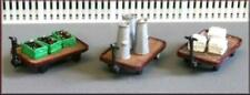 Knightwing B43 Platform Trolleys with Loads OO Gauge