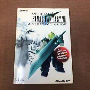 Final Fantasy VII Bradygames Strategy Guide