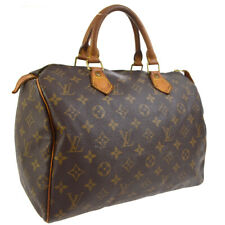 LOUIS VUITTON SPEEDY 30 HAND BAG MONOGRAM LEATHER M41526  uj 30265