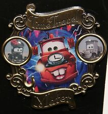Disney Tow Mater Time Travel Pin 2015 Release New On Card