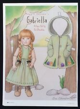 Maggie Iacono's Gabriella Magazine Paper Doll, 1998, by Sue Shanahan, Doll Mag.