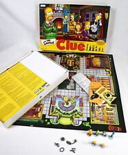 The Simpsons CLUE Board Game 2nd Edition Hasbro Classic Detective Game 2002
