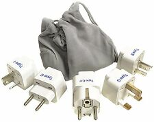 Ceptics Gp-5Pk 5 piece set Travel International Worldwide Plug Adapters