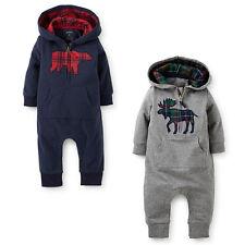 af63588eb Surper Kids Baby Boy Warm Infant Romper Jumpsuit Bodysuit Hooded Clothes  Outfit