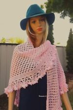 Handmade Cotton Blend Shawls/Wraps Scarves & Wraps for Women