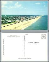 US 113 /& DE Route 1 Postcard Delaware Aerial View of Milford Mispillion River