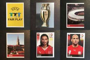 Panini UEFA Euro 2008 Austria-Switzerland Stickers - [odds 1-100]