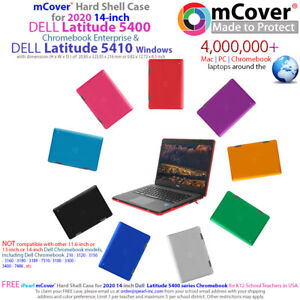 "NEW mCover® Hard Shell Case for 2020 14"" Dell Latitude 5400 Chrome 5410 Windows"