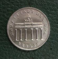 Originalmünze 5 Mark DDR Brandenburger Tor 1986 selten (1BT)
