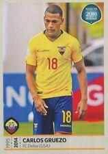 359 CARLOS GRUEZO ECUADOR FC.DALLAS STICKER ROAD TO RUSSIA WORLD CUP 2018 PANINI