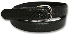 Ossi Mens Weave Leather Belt Buckle Casual Waist 30mm Q5025