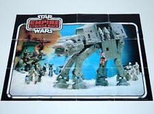 STAR WARS 1981 ESB CATALOG FOLDOUT LEAFLET AT-AT POSTER KENNER PALITOY UK