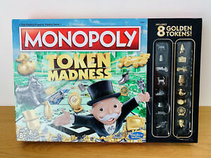 Monopoly Token Madness Board Game - 100% Complete