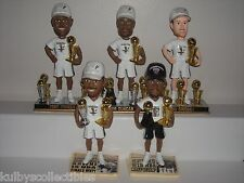 SAN ANTONIO SPURS 2014 Bobble Head Set of 5 Limited NBA Trophy Edition NBA New**
