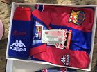 Vintage Kappa Barcelona Kit Sz 4 KIDS BNIBWT 1996-97 Season Rare New Stoichkov