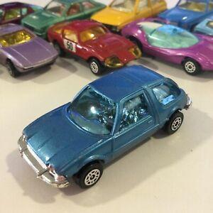 VINTAGE CORGI JUNIORS JR BLUE AMC PACER NM/M 1:64 GT BRITAIN