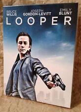 LOOPER Blu-Ray FilmArena Collection Czech FULLSLIP + Lenticular Magnet STEELBOOK