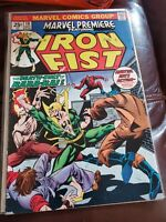 Marvel Premiere #19 Featuring Iron Fist Marvel Comics 1st Colleen Wing