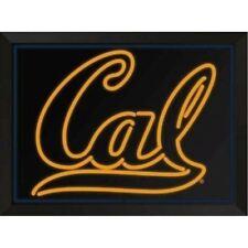 UNIVERSITY OF CALIFORNIA CAL FOOTBALL LED FX LIGHT UP SIGN FRAMED ART WALL DORM