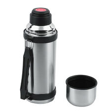 33 oz Vacuum Insulated Thermos Stainless Steel Canteen Camping Bottle Flask OB