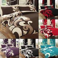 Grandeur Vintage Style Luxury Duvet Covers Quilt Covers Reversible Bedding Sets