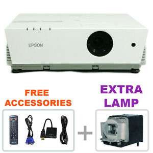 REFURBISHED - Epson PowerLite 6110i Projector Home Theater w/bundle + EXTRA LAMP