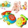 KQ_ Baby Music Car Cartoon Button Phone Educational Developmental Toy Kids Game