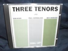 Don Byas / Paul Gonsalves / Ben Webster – The Three Tenor