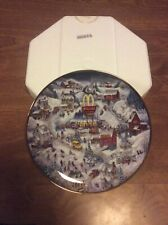 "The Franklin Mint Limited Edition McDonald's ""Golden Country� Collectors Plate!"