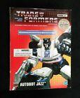Transformers Autobot Jazz Commemorative Series III NEW SEALED Gen 1 Toy Classic