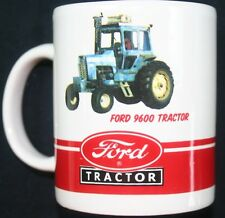 Ford tractor collector coffee cup mug New Holland 9600 gift travel ceramic drink