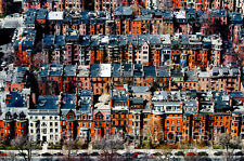 "Neil Reichline Photo ""Back Bay, Boston""  city view, architecture, 13x19"" signed"