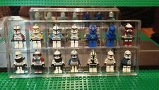 Lego Minifigures Collector 14 Compartment Storage Display Case +Lego Plates +Lid