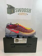 e846988e8373a Nike Air Vapormax Flyknit 2 Random Multi-Color Hyper Punch CJ0066-900 Sz 9