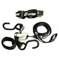JITSIE Quality Bike Tie-downs with soft top loop and 2 hooks - Pair
