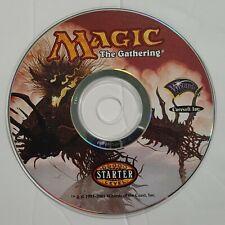 Magic The Gathering Starter Level - 7th Edition - PC CD-ROM 2001 Windows