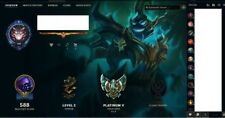 league of legends account na plat ,All champions 675 skins 4 ultimate 5 mythic