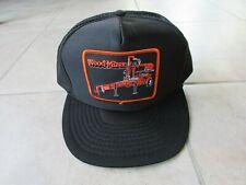 Vtg Wood-Mizer Cap Hat 1980s Snapback New